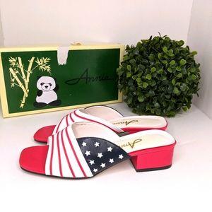 Annie America Mule Sandal size 6M Retro/Vintage